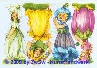 Blumenkinder ohne Glimmer