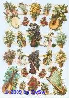 Blumen-Instrumente ohne Glimmer