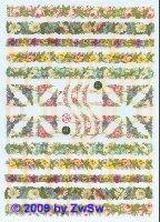 Blumenbänder ohne Glimmer