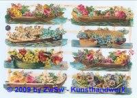 Blumenboote ohne Glimmer