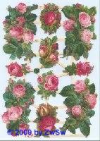 Rosenbouquets ohne Glimmer