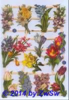 Frühlingsblumen ohne Glimmer