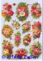 Blumenstrauß ohne Glimmer