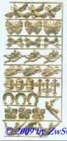 Glückssymbole goldgeprägt