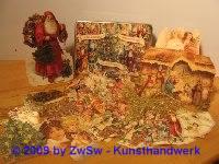Metalldose mit Weihnachtsschmuck