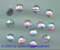 Strass/Splintfassung 1 Stück 9 mm (kristall/AB)