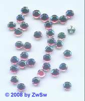 Strass/gef. 1 Stück 5mm (rosa/AB)