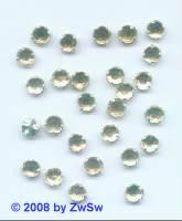 Strass/gef. 1 Stück 5mm (zartgelb)