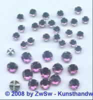 Strass/gef. 1 Stück 5mm (violett)