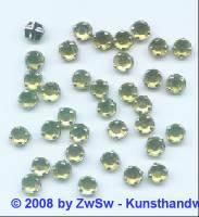 Strass/gef. 1 Stück 5mm (olivin)