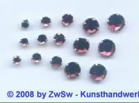 Strass/gef. 1 Stück 3mm (amethyst)