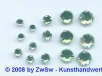 Strass/gef. 1 Stück 3mm (hellgrün)