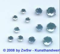 Strass/gef. 1 Stück 3mm (hellblau)