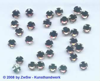 Strass/gef. 1 Stück 5mm (hellamethyst)