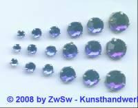 Strass/gef. 1 Stück 3mm (blau)