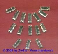 Strassstein Stäbchen gefasst 10mm x 4mm