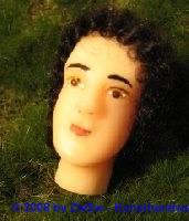 Krippenfigurenkopf, Größe 6