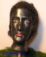 Schwarzer Kopf, Größe 6