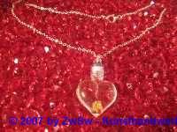 Herzanhänger selber füllen