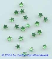 Strass/Sternchenform Ø 5mm (grün), 1 Stück
