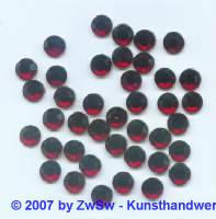Strass/HOT FIX, rubin, 1 Stück SS 6 (2mm)