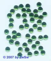Strass/HOT FIX, smaragd (hell), 1 Stück SS 6 (2mm)