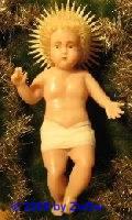 1 Jesuskind, 16cm, blond