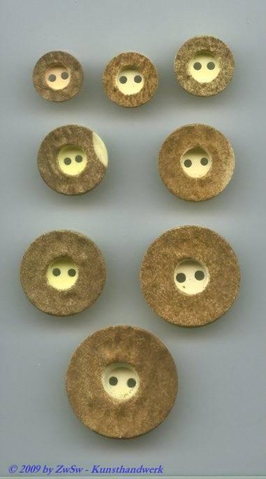 Trachtenknopf, natur Ø 12mm