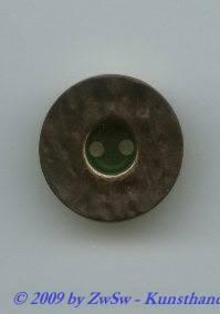 Trachtenknopf, Ø 23mm, grün