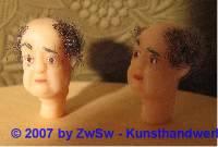 Krippenfigurenkopf, Größe 2