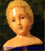 Fatschenkindkopf blond