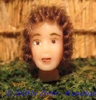 Krippenfigurenkopf, Größe 4