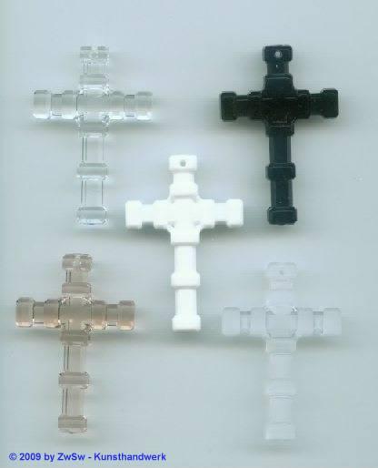 1 Kreuzanhänger kristall