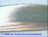 Krüllpapier natur/silber 3 Block 3mm