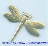 Libelle 6 cm 1 Stück