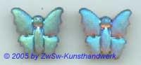 1 Strassstein Schmetterling AB (Blauton)