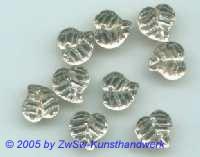 Strassstein in Blattform, 10mm x 8mm (kristall) 1 Stück