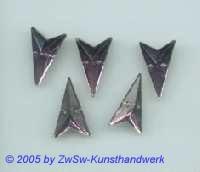 Strassstein in Pfeilform (violett) 1 Stück