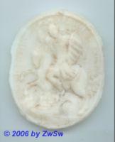 Medaillon: Hl. Georg, 8cm x 6,5cm