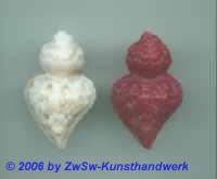 flammendes Herz, rot mit Lebensbaum, 4,5cm x 2,8cm