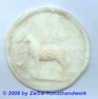 Medaillon: Agnus Dei, ca. Ø 12,2cm