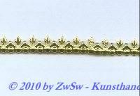 Metallband gold 7,5 mm/10cm.