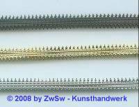 Metallband roh 9 mm/10 cm.