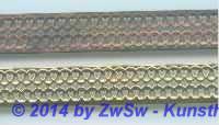 Metallband roh 12 mm/10 cm.