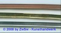 Metallband 7mm, Rohware 10 cm