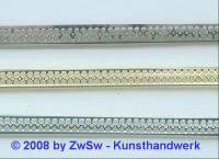 Metallband 7mm Rohware 10 cm