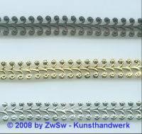 Metallband, 11mm, Rohware 10 cm