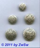 Metallknopf, Ø 15mm, Doppeladler
