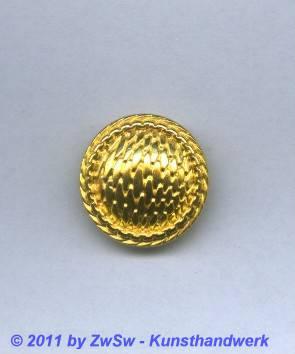 Metallknopf, Ø 23mm, gold