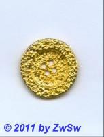 Metallknopf, Ø 30mm, gold